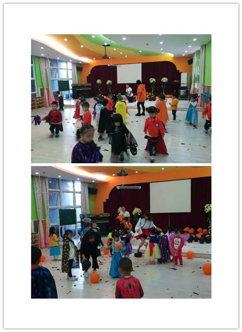 翠岭华庭幼儿园万圣节活动小朋友嗨翻了