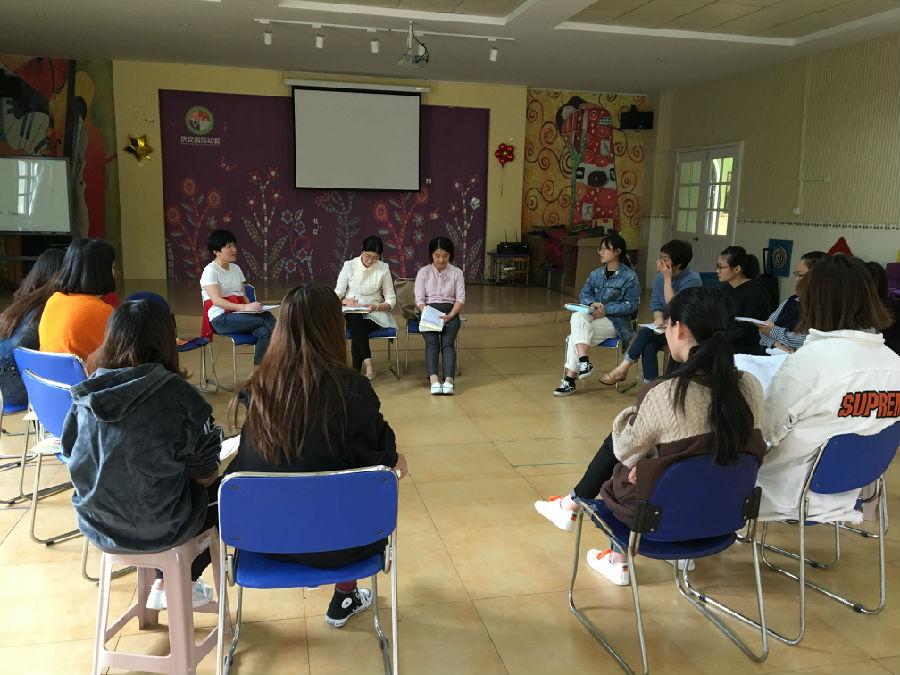 相互学习,共同成长——海宁市庆安幼儿园开展2-8年青年教师集体教学